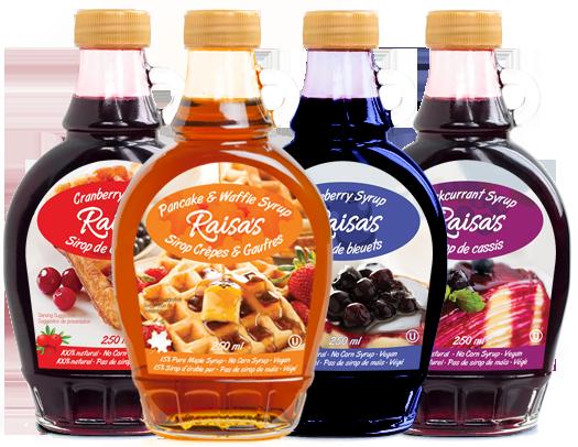 Raisa's syrups