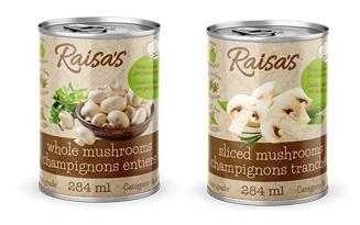 Raisa's mushrooms