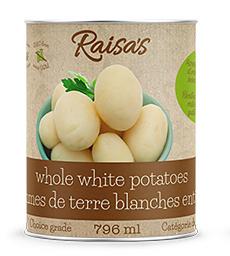 Raisa's whole canned potatoes
